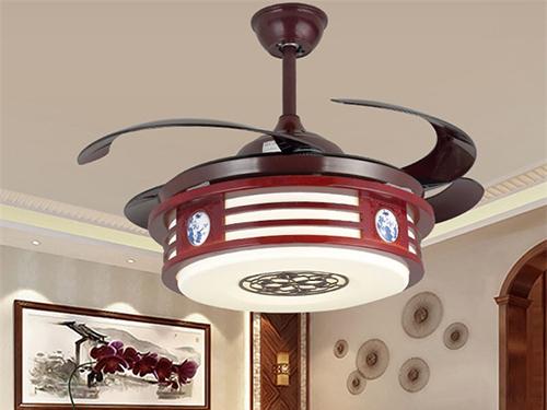 新中式吊扇灯1155
