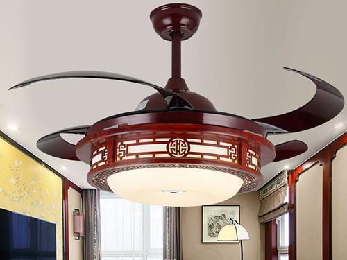 新中式吊扇灯1039