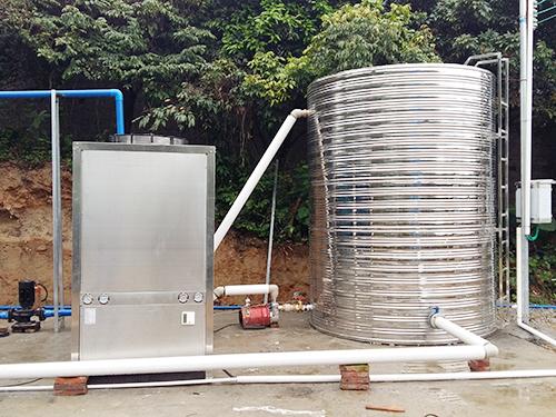 化妆品涂料行业专用热泵热水机
