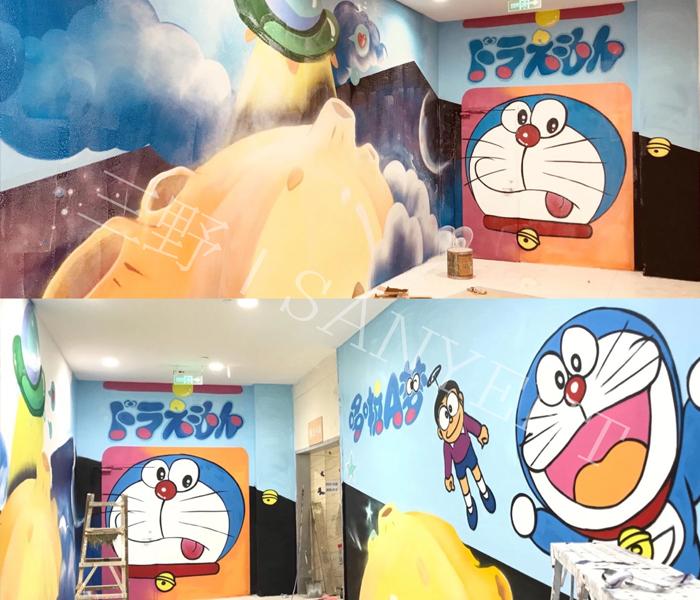 東莞嘉榮超市項目—華南摩爾涂鴉