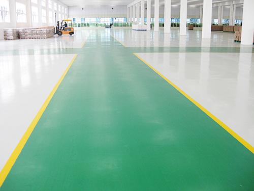 環氧樹脂地坪漆施工