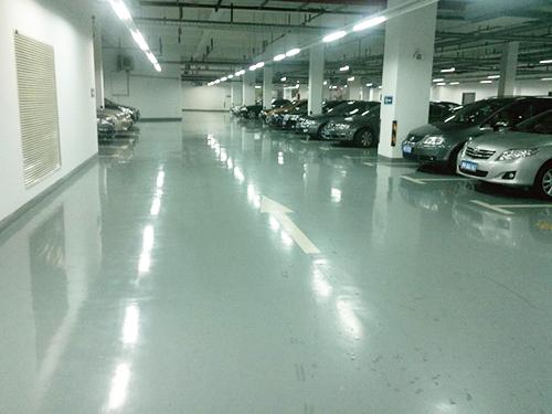 停车场硬化地坪工程