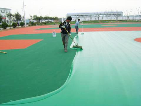 PU籃球場地坪工程