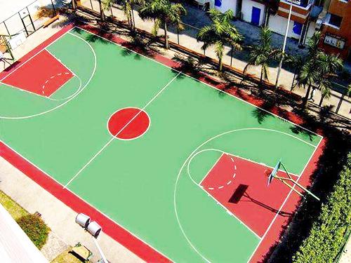 東莞PU籃球場地坪工程
