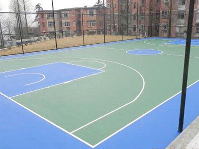 PU篮球场地坪