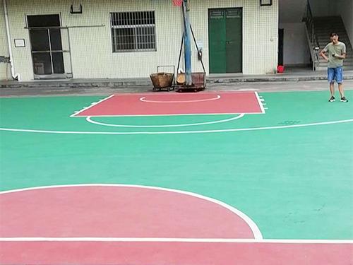 篮球场地坪工程