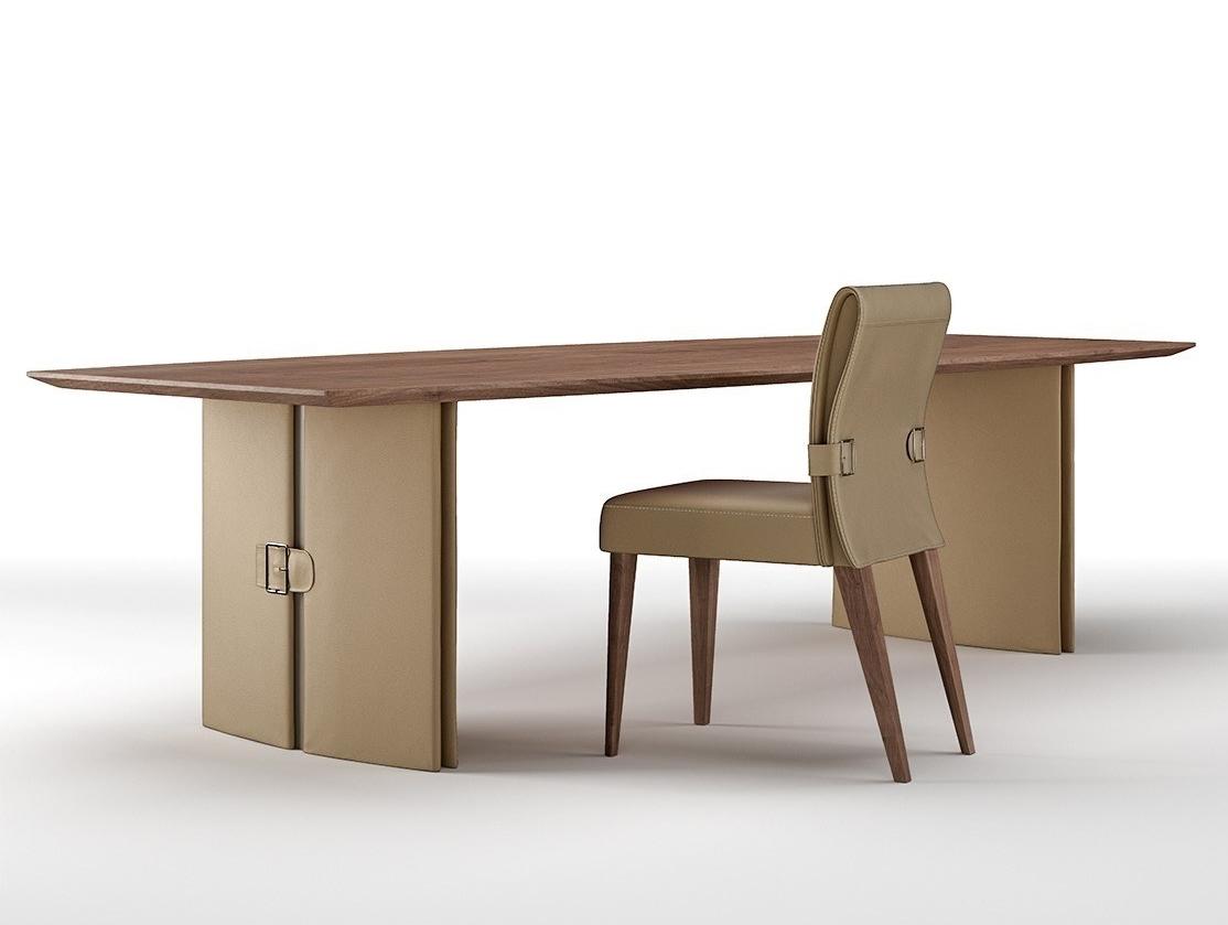 輕奢實木臺面餐桌