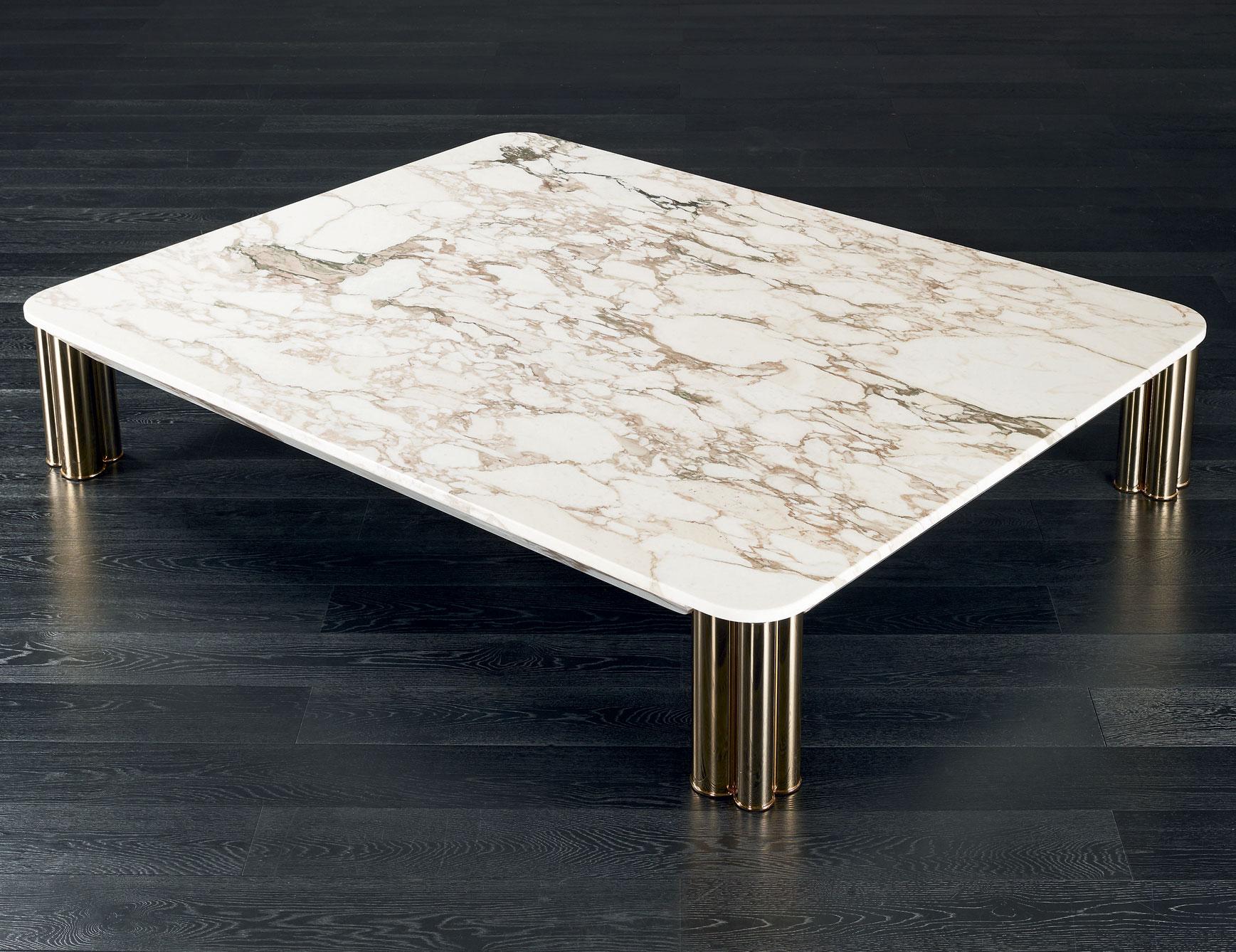 實木硬包大理石餐桌