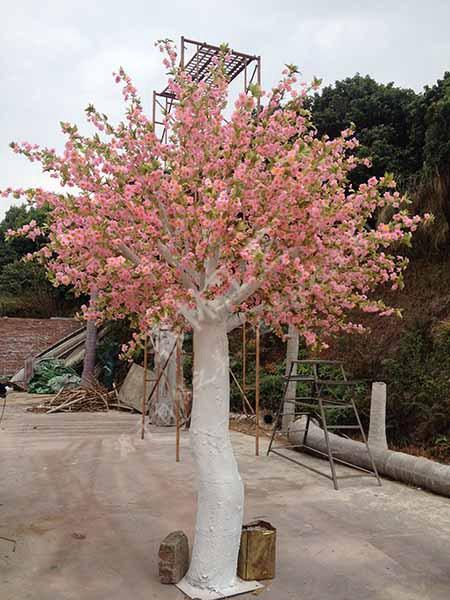婚礼樱花树制作-sl-东莞市企石森林工艺品厂-企讯网