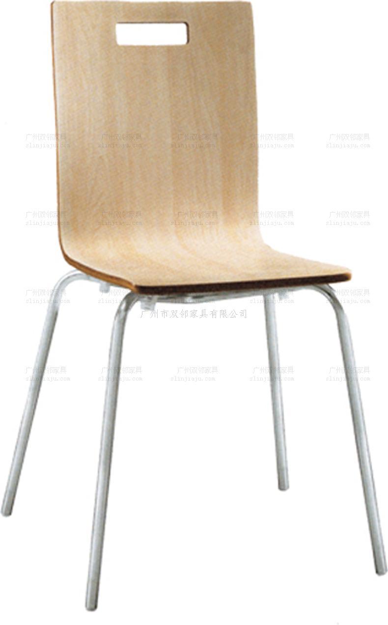 餐厅弯木椅