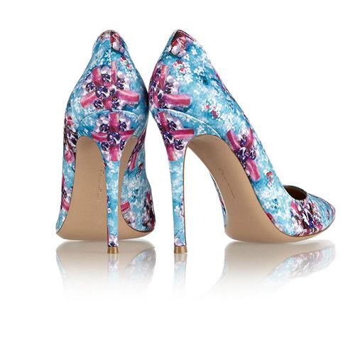 高跟鞋印花