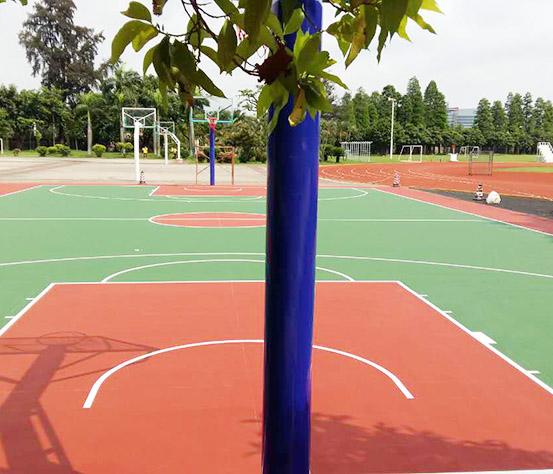 丙烯酸篮球场设计