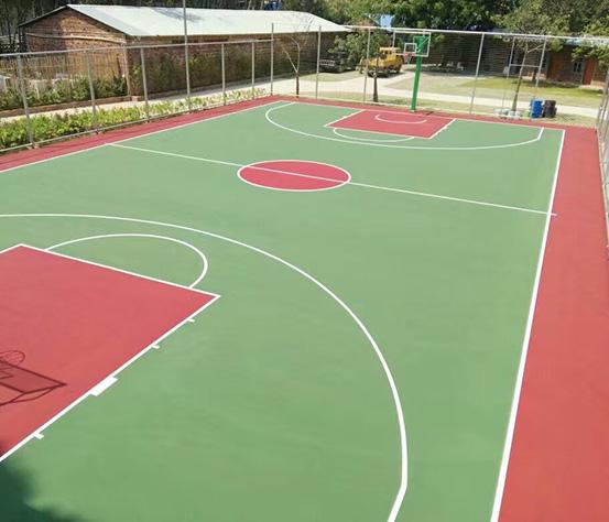 东莞丙烯酸篮球场设计