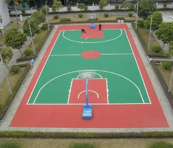 PU塑胶篮球场设计