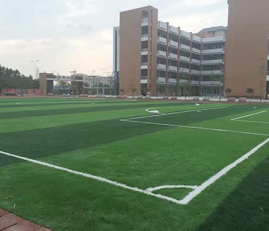 人造草坪足球场营造
