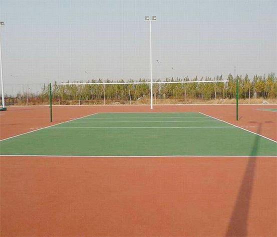 排球场设计
