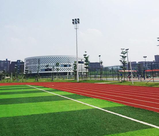 人造草足球场灯光