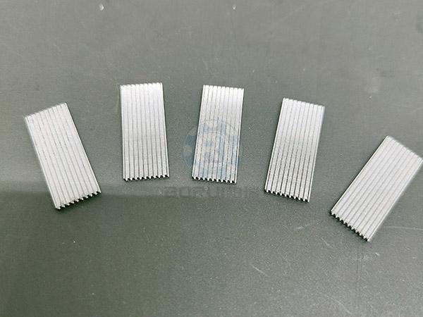 连接器零件制作