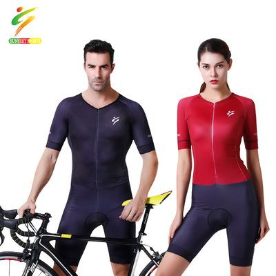 自行车连体骑行服