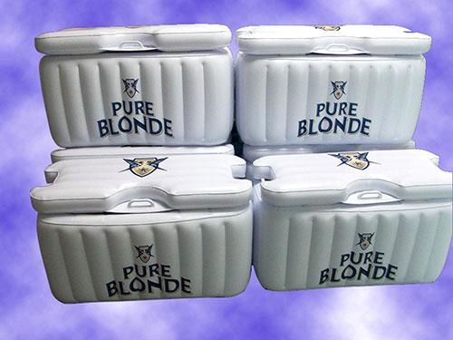 白色充氣收納盒