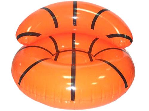 橙色充气沙发