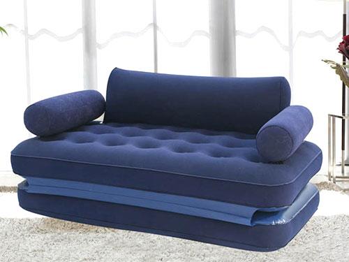 深蓝色沙发