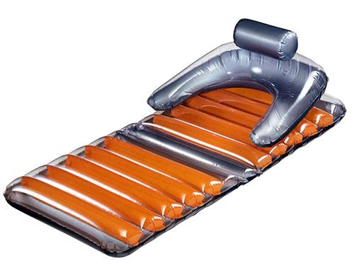 橙灰雙色充氣墊