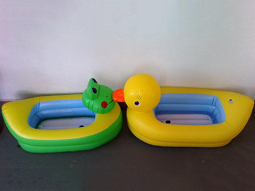 充氣動物型浴盆