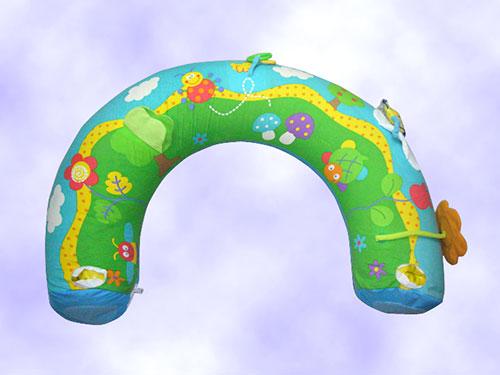彩色嬰兒U型枕