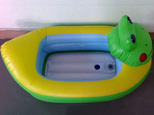 充氣青蛙浴盆
