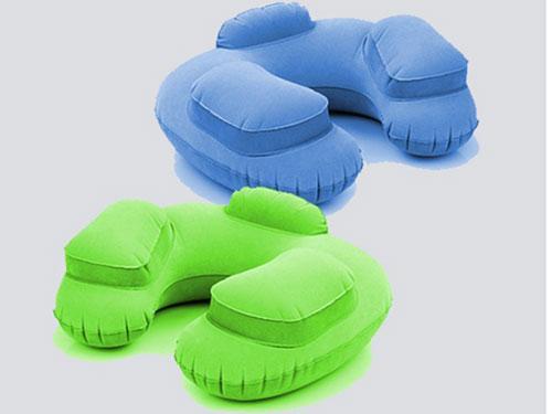 充氣VC植絨枕頭