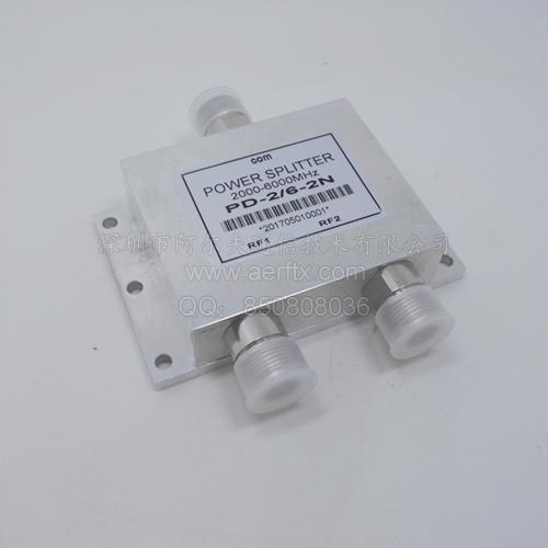 N型二功分器2-6G