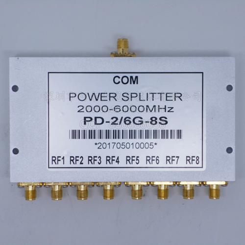 SMA八功分器2-6G