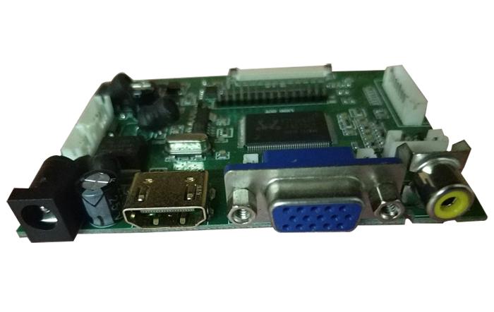 PCB800099-V.9 LVDS TTL 倒车驱动板