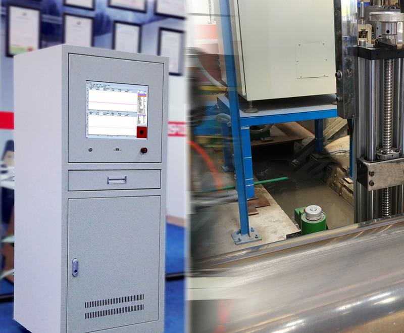 不锈钢直缝焊管在线涡流检测系统(马鞍式)EFN1002