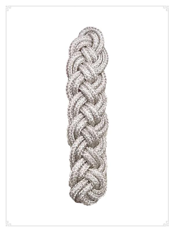 银色编织结