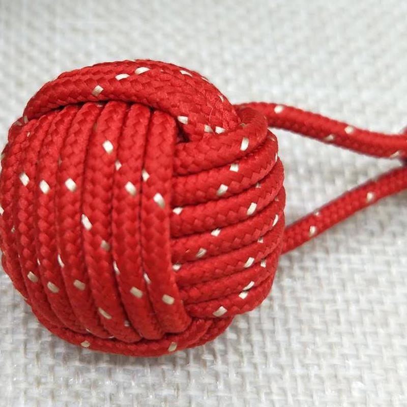 红色编织球定做_飞嘉礼品_欧式_绳子_红绳_装饰_挂件_手工
