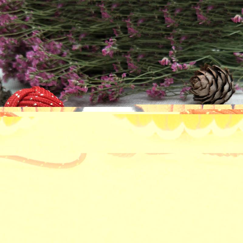 DIY挂件编织球定做价格_飞嘉礼品_双球_欧式_窗帘装饰_红色