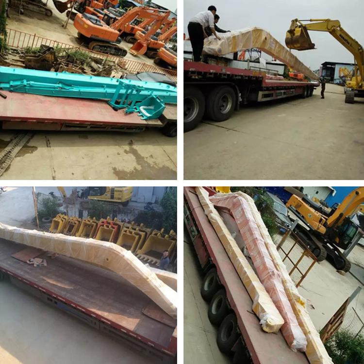 鑫华机械_隧道远距离_重庆清淤挖掘机加长臂价格