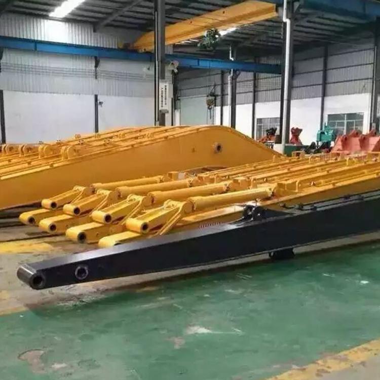 重庆河道疏通挖掘机加长臂可以吗_鑫华机械_河道疏通_地铁_20吨