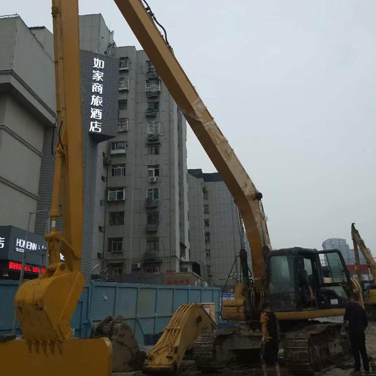 北京煤矿挖掘机加长臂制造商_鑫华机械_基础建设_挖井_清淤
