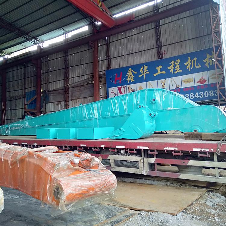 北京地铁挖掘机加长臂怎么选择_鑫华机械_煤矿_通用_20吨
