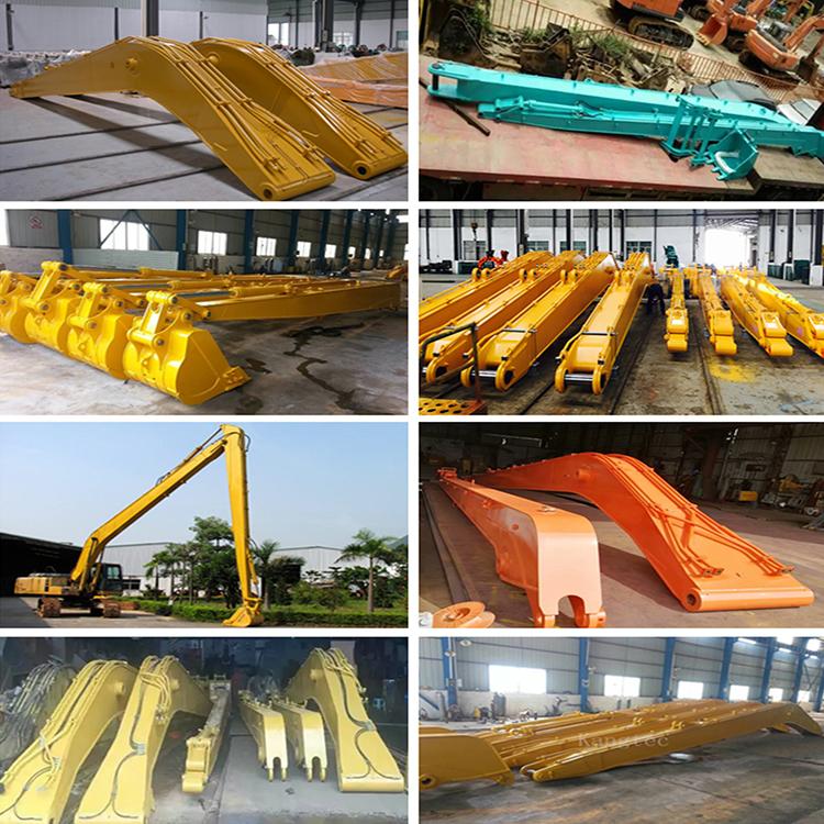 廣州基礎建設挖掘機加長臂報價_鑫華機械_清淤_隧道遠距離