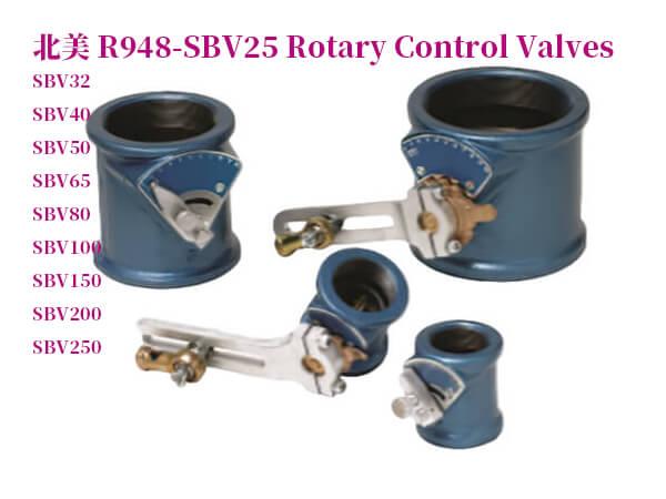 R948-SBV25旋轉控制閥
