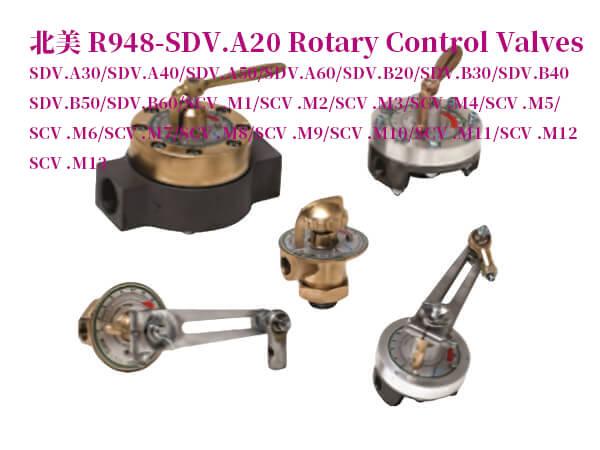 R948-SDV.A20旋轉控制閥