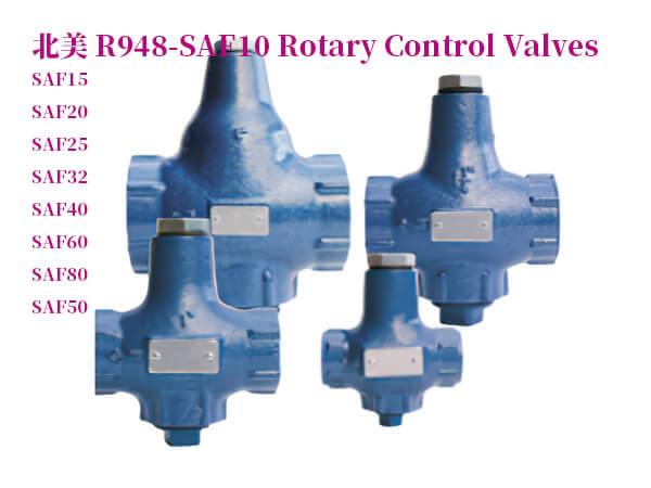 R948-1630旋轉控制閥SAF10