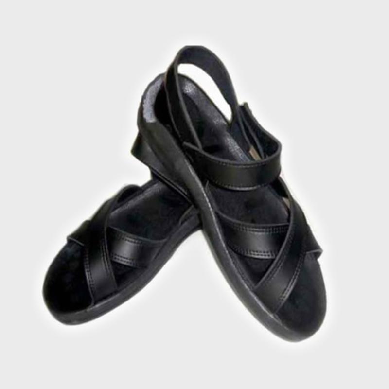 高筒防靜電鞋報價_愛達康_四孔_藍色_家用_無塵車間_鋼頭_軟底