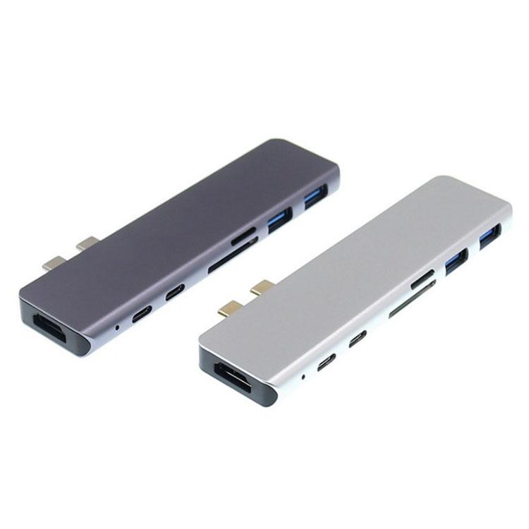 雙3.1轉HDMI+USB3.0+PD+TF/SD 7合1拓展塢