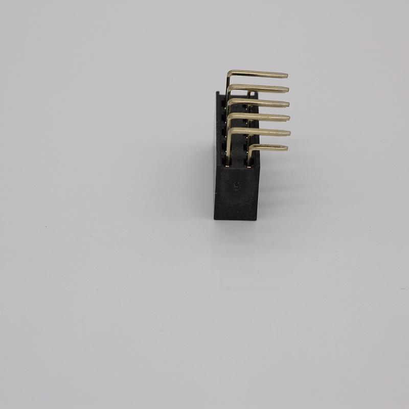 專注排母連接器供應廠_金益成_特殊_定位_專用_貼片_電表_雙彎