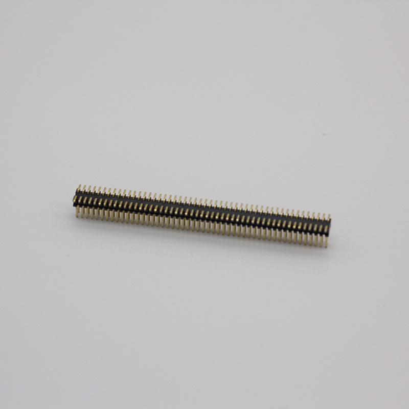 雙排雙塑排針連接器是什么_金益成_普通_貼片_打K_焊接_供應